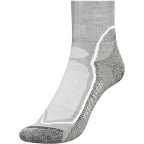 Icebreaker Hike+ Light Mini Socks Men fossil/white/monsoon